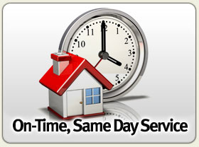 On-Time, Same Day Service